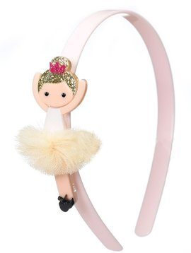 Lilies and Roses Headband - Gold Ballerina