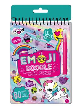 Fashion Angels Emoji Doodle Activity Book