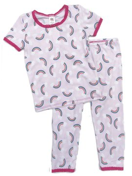 Esme Loungewear Rainbow Short Sleeve Pajamas