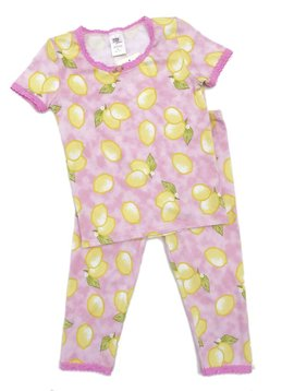 Esme Loungewear Lemons Short Sleeve Pajamas