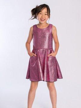 Zoe Ltd Foil Pocket Swing Dress - Zoe ltd