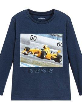 Mayoral Formula 1 Blue Shirt - Mayoral Clothing