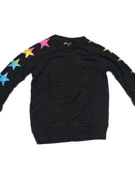 Flowers by Zoe Rainbow Star Sweatshirt - Flowers By Zoe