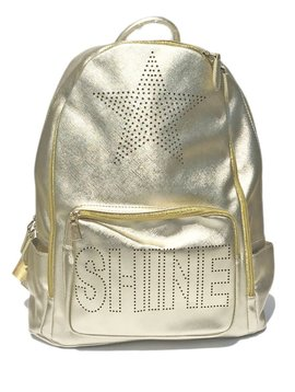 Bari Lynn Gold SHINE Backpack - Bari Lynn Accessories