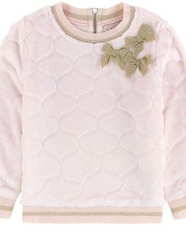 Lili Gaufrette Pink Luso Faux Fur Sweatshirt - Lili Gaufrette