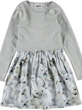 molo Credence Dress Polar Bear - Molo Kids