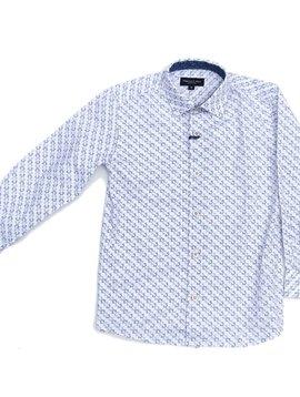 Leo & Zachary Dress Shirt - Mexi Print - Leo and Zachary