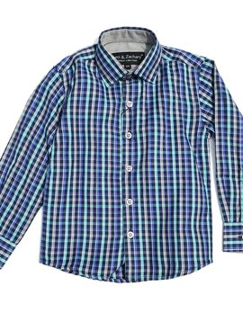Leo & Zachary Dress Shirt - Farmers Plaid - Leo and Zachary