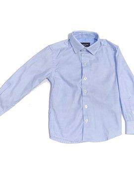 Leo & Zachary Dress Shirt - Azzure Piquet - Leo and Zachary