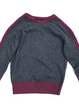 Leo & Zachary Charcoal Sweater - Leo and Zachary