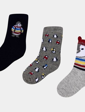 Mayoral Infant Penguin Socks - Mayoral Clothing