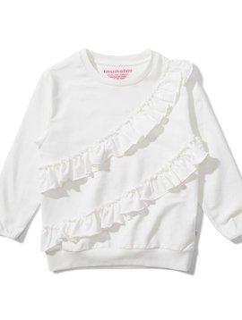 Munster Vibes Ruffle Sweatshirt - Missie Munster Kids