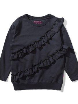 Munster Black Vibes Ruffle Sweatshirt - Missie Munster Kids