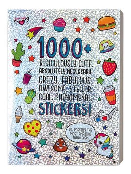 Fashion Angels 1000+ Ridiculously Cute Stickers Book - Fashion Angels