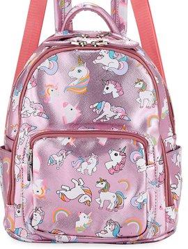 Bari Lynn Mini Pink Unicorn Backpack - Bari Lynn Accessories