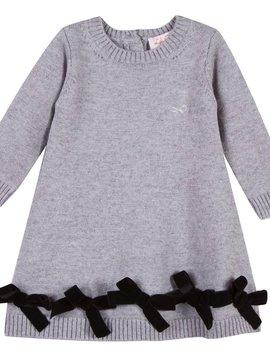 Lili Gaufrette Leptine Knit Bow Dress - Lili Gaufrette