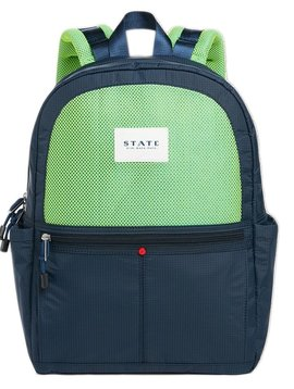 STATE Kane - Navy & Lime - State Bags