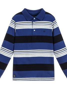 Mayoral Stripe Polo - Mayoral Clothing