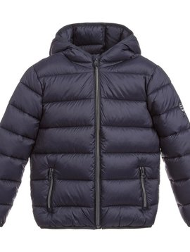 Mayoral Navy Puffer Jacket - Mayoral Clothing