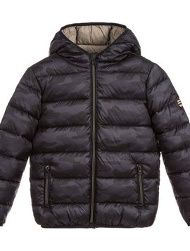 Mayoral Black Puffer Jacket - Mayoral Clothing