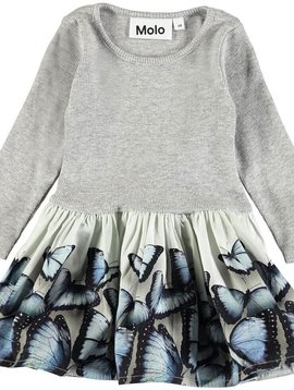 molo Candi Dress Blue Wings - Molo Kids