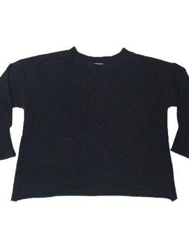 Go Gently Nation Black Puff Sweatshirt - Go Gently Nation Kids