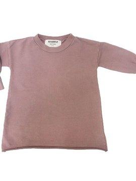 Go Gently Nation Puff Sleeve Dress - Cinnamon - Go Gently Nation Kids