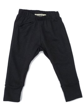 Go Gently Nation Black Jogger - Go Gently Nation Kids