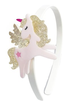 Lilies and Roses Headband - Unicorn Wings Gold - Lilies and Roses NY