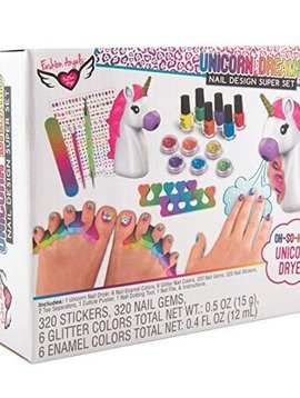 Fashion Angels Unicorn Nails Super Set - Fashion Angels