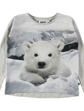 molo Renate Top - Polar Bear - Molo Kids