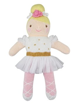 Zubels Ballerina in White - Zubels Toys