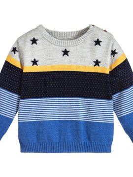 Mayoral Stars Knit Sweater - Mayoral Baby Clothing