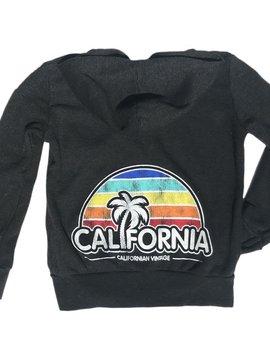 Californian Vintage California Dusk Zip Hoodie - Californian Vintage
