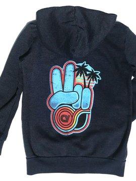 Californian Vintage Harmony Zip Hoodie - Californian Vintage Kids