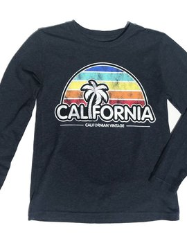 Californian Vintage California Dusk LS Crew - Californian Vintage