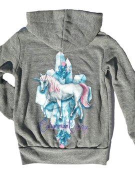 Californian Vintage Unicorn Zip Hoodie - Californian Vintage Kids