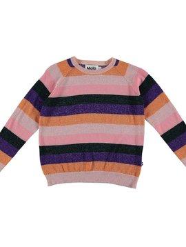 molo Guinevere Rainbow Stripe Sweater - Molo Kids