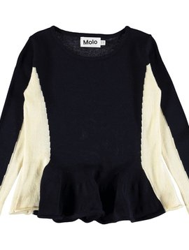 molo Gilda Sweater - Dark Navy - Molo Kids