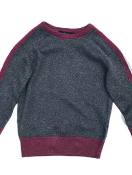Leo & Zachary Charcoal Sweater - Leo and Zachary