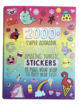 Fashion Angels 2000+ The Year in Stickers  - Fashion Angels