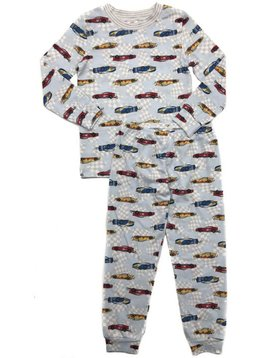 Esme Loungewear Race Car Crew Neck Set - Esme Loungewear