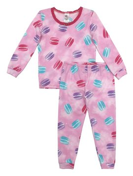 Esme Loungewear Macaron Full Length Set - Esme Loungewear