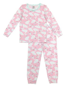 Esme Loungewear Swans Full Length Set - Esme Loungewear