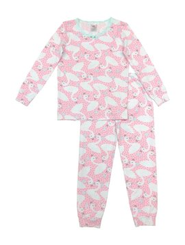 Esme Loungewear Baby Swans Full Length Set - Esme Loungewear