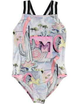molo Neve Swimsuit - Signs - Molo Kids Swim
