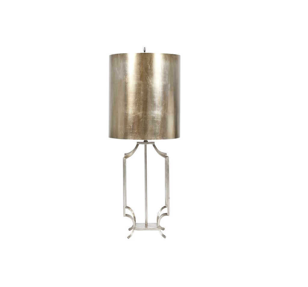 WINDHAM SILVER LAMP