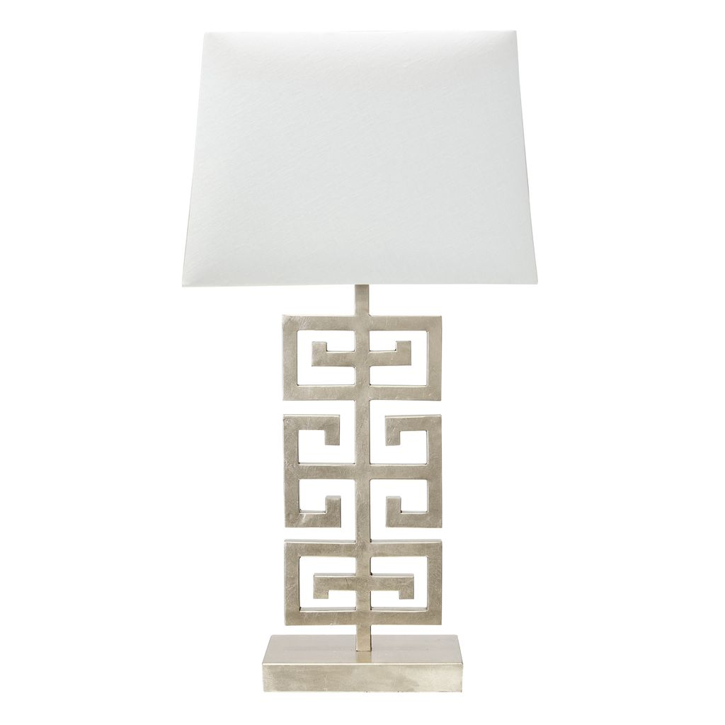 JASPER SILVER TABLE LAMP
