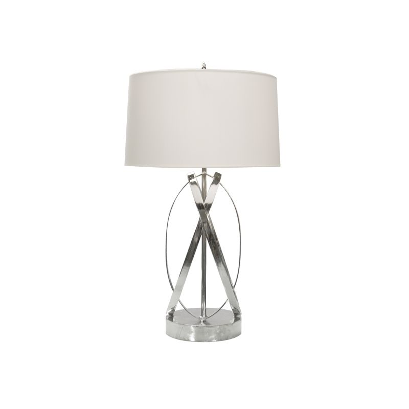 NICKEL PLATED LAMP