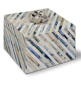 REGINA ANDREW  INDIGO STRIP BOX-SMALL